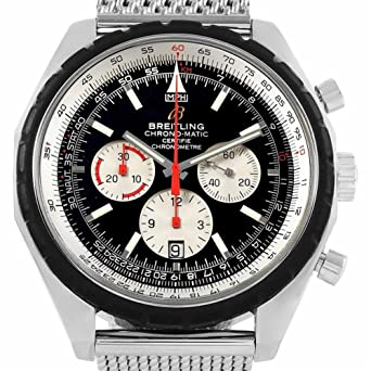 102de8c61 Amazon.com: Breitling Chrono-Matic Automatic-self-Wind Male Watch A41360  (Certified Pre-Owned): Breitling: Watches