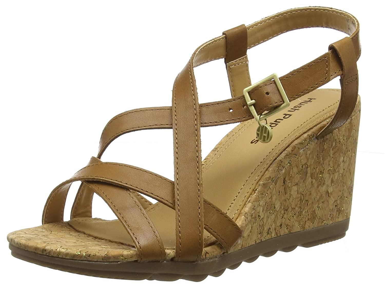 45d86f39bb75a Hush Puppies Women's Pekingese Strappy Platform Sandals: Amazon.co.uk: Shoes  & Bags
