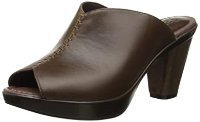Sanita Women's Baja Heel Clogs Brown 39