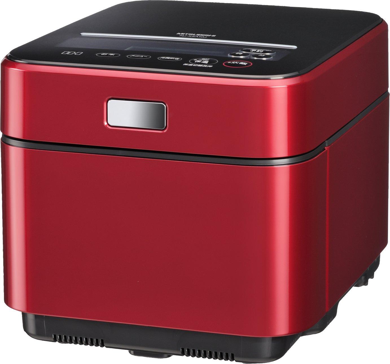 三菱電機 NJ-XSA10J-R IHジャー炊飯器「蒸気レスIH」 (ルビーレッド)   B003554FFS