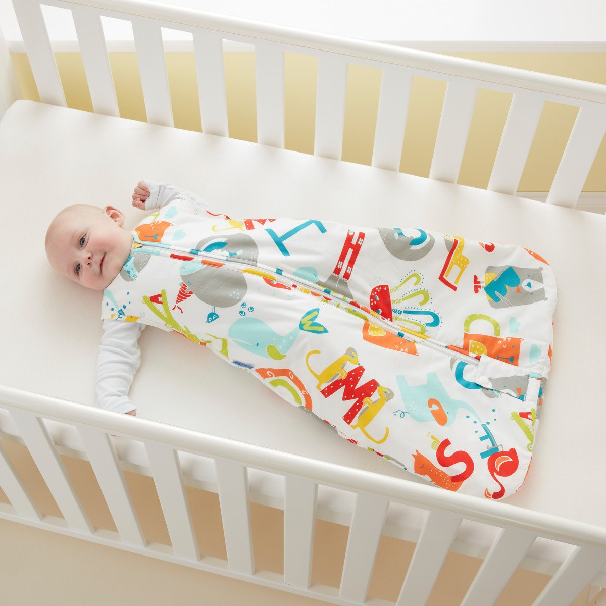 Grobag Travel Baby Sleeping Bag - E is for Elephant 2.5 Tog (18-36 Months) by grobag (Image #6)