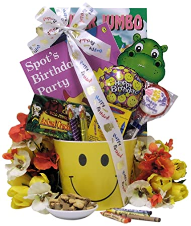 Amazon great arrivals kids birthday gift basket ages 3 to 5 great arrivals kids birthday gift basket ages 3 to 5 happy birthday smiles negle Image collections