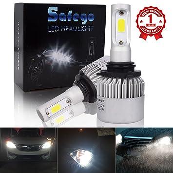 Safego 2x 9006 HB4 Faro Bombillas Alquiler de luces LED 60W 8000LM de la lámpara con