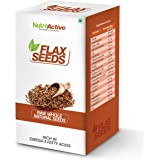 NutroActive FLAX SEEDS Raw Whole (Alsi) - 250 gm