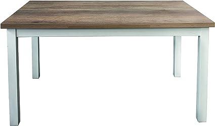 Fashion Commerce Fc841 Tavolo Allungabile Legno 110x70x75 Cm Multicolore Rettangolare Amazon It Casa E Cucina