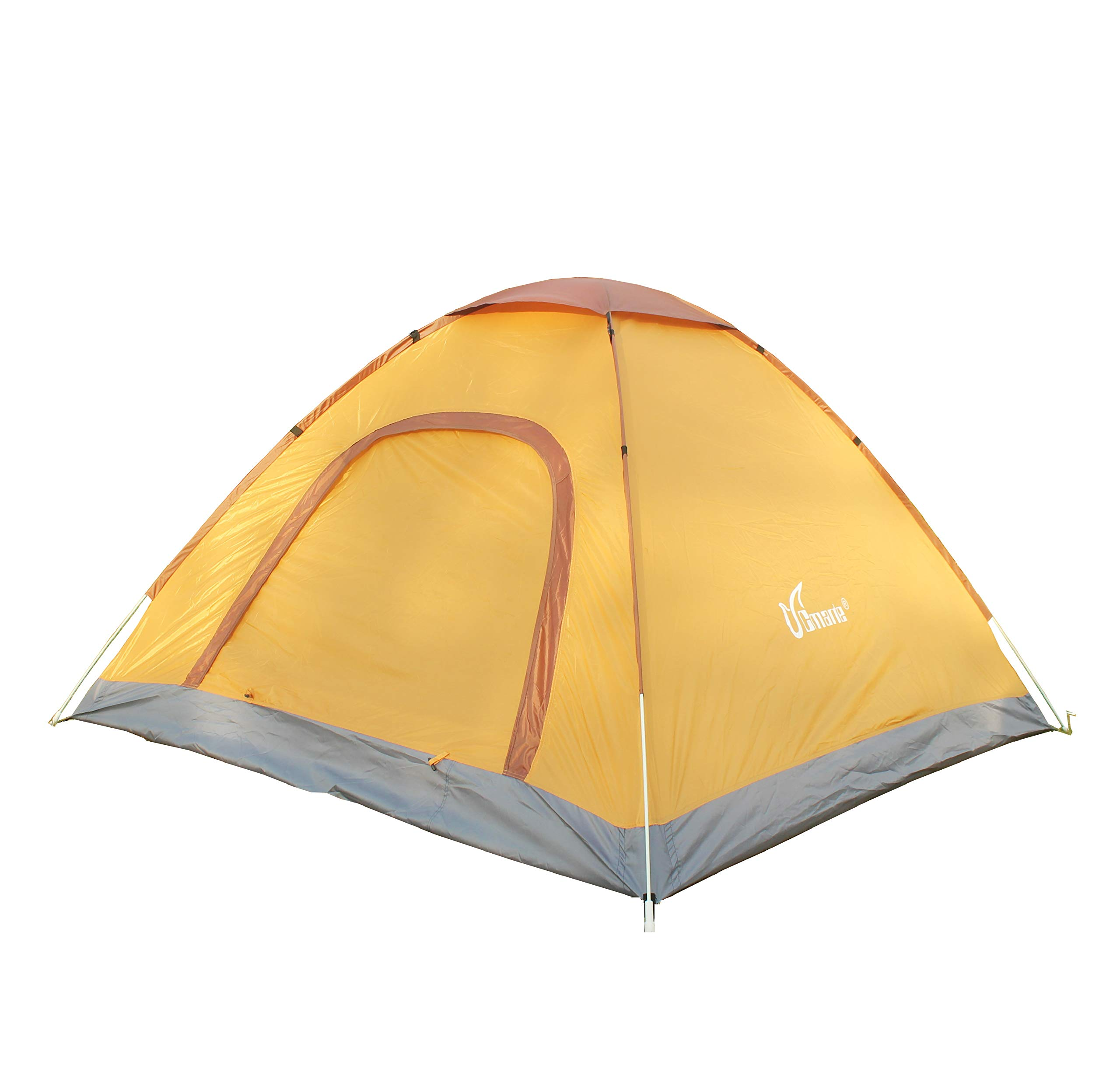 cmarte Lightweight, Pop Up Instant Cabin Stable Tent for Family in Traveling, Beach, Camping & Outdoor Activity