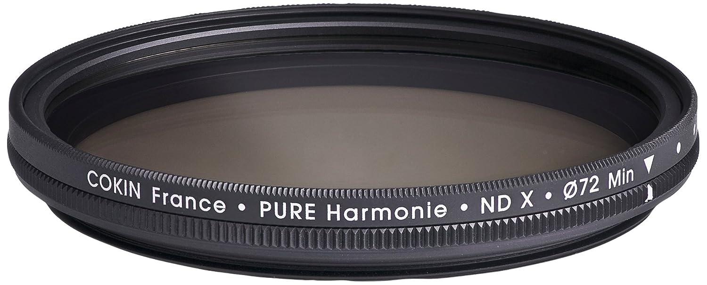 Cokin CH150B82A Filtro Circolare Pure Harmonie, Nero, ND X VAriabile 82 mm