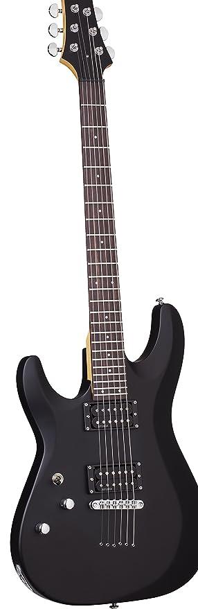 Schecter C-6 Deluxe · Guitarra eléctrica zurdos: Amazon.es: Instrumentos musicales
