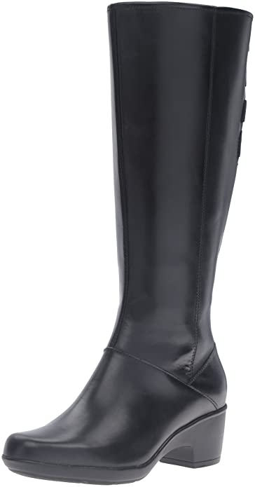 reputable site 44e28 c9081 clarks wide calf riding boots .