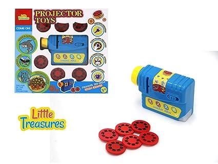 Amazon.com: Proyector Juguete Conjunto Completo con Kid s ...
