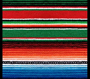 DIY 5D Diamond Painting Kits Mexican Serape Retro Classic Nostalgia Full Drill Painting Arts Craft Canvas for Home Wall Decor Full Drill Cross Stitch Giftt 12X16 Inch