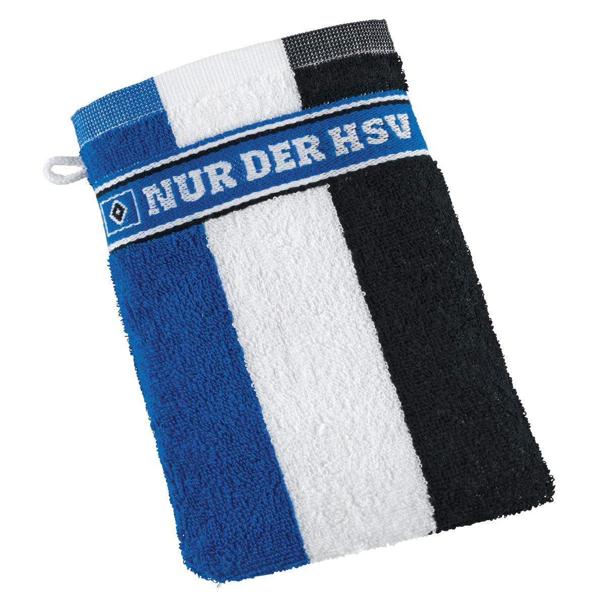 HSV Hamburger SV Handtuch  blau weiß schwarz 3 Streifen 50x100 cm Neu