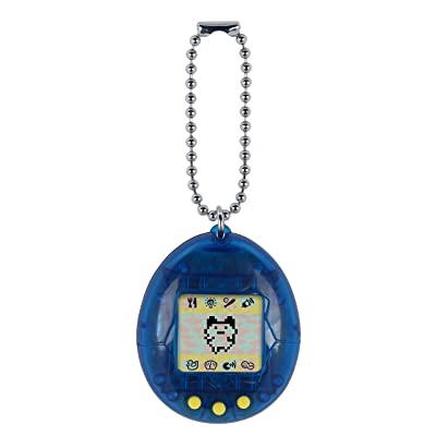 Tamagotchi Electronic Game, Translucent Blue: Toys & Games