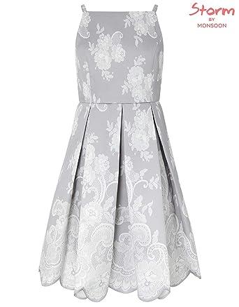 wholesale outlet competitive price utterly stylish Amazon.com: Monsoon Barcelona Lace Print Prom Dress ...