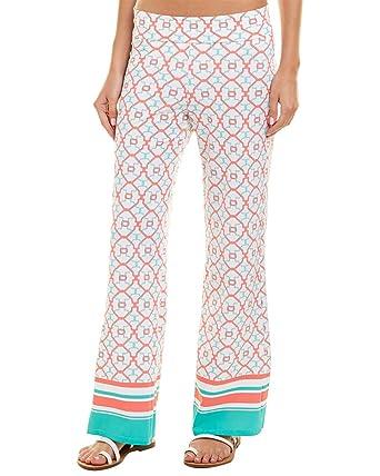 c6e76f78fe Cabana Life Womens Beach Pant, M, Pink at Amazon Women's Clothing store: