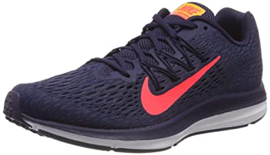 differently 28d8c 77b55 Nike Zoom Winflo 5 Chaussures de Running Compétition Homme, Multicolore  (Blackened Blue Flash