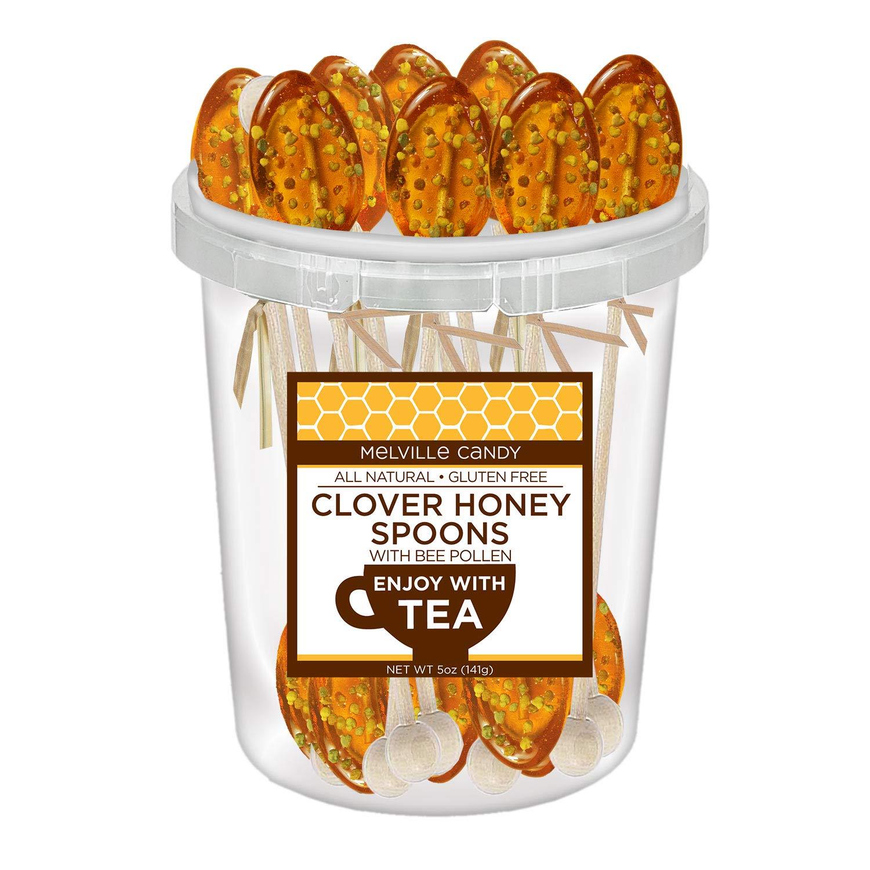 Bee Pollen Honey Spoon (30 Count)