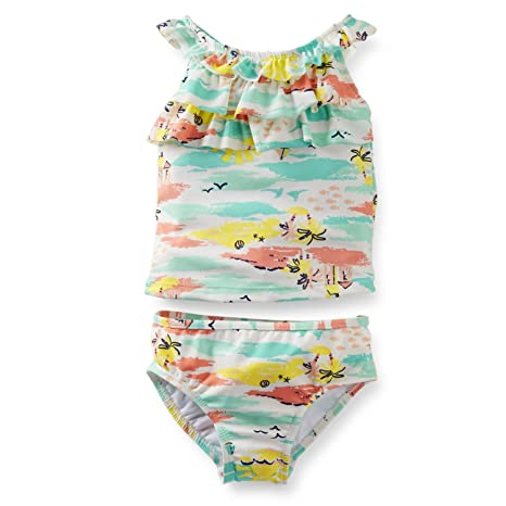 56a0d8f85 Image Unavailable. Image not available for. Color: Carters Toddler Girl 2pc  Swim Suit - 3t