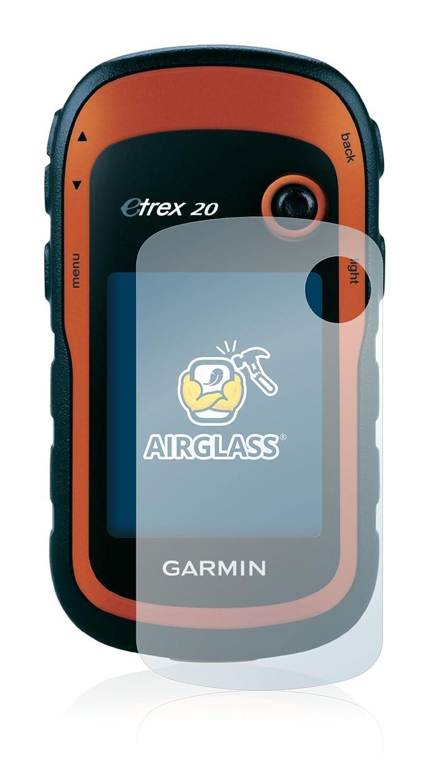 Vetro Prottetivo BROTECT Pellicola Vetro Compatibile con Garmin eTrex 20 Flessibile 9H AirGlass