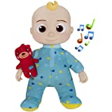 CoComelon Official Musical Bedtime JJ Doll, Soft Plush Body – Press Tummy and JJ sings clips from 'Yes, Yes, Bedtime Song,' –