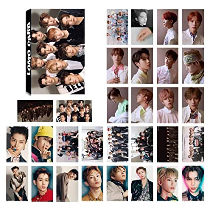 Nuofeng - Kpop NCT EMPATHY Lomo Cards NCT127 NCT Dream Photocard Sticker  Cards Set for NCT Fans(J-30pcs)