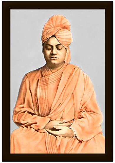 buy swami vivekananda in meditation framed photo x inches