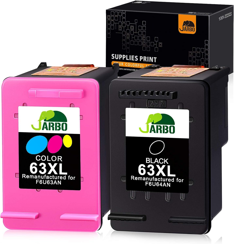 GENUINE HP 63 Black Color-Original Ink Cartridge Combo for HP2132 HP4655 printer