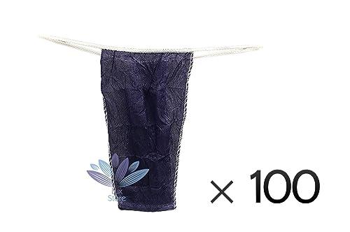 Desechables SPA Ladies G-String T-Back Bragas Tanga Un Tamaño para la Mujer-Pack de 100 - Azul: Amazon.es: Zapatos y complementos
