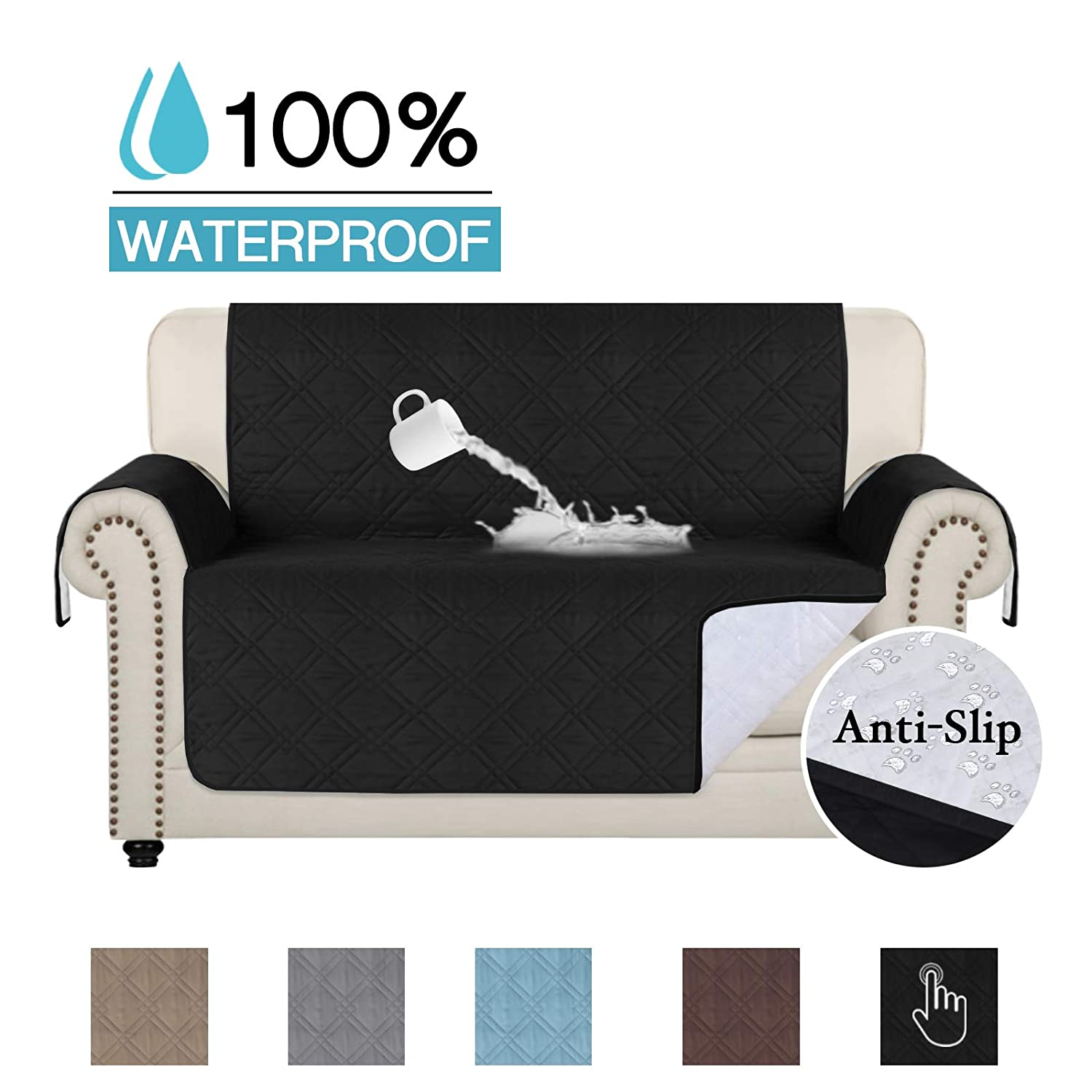 100% Waterproof Chair Cover for Living Room Sofa Slipcover Sofa Cover Furniture Protector