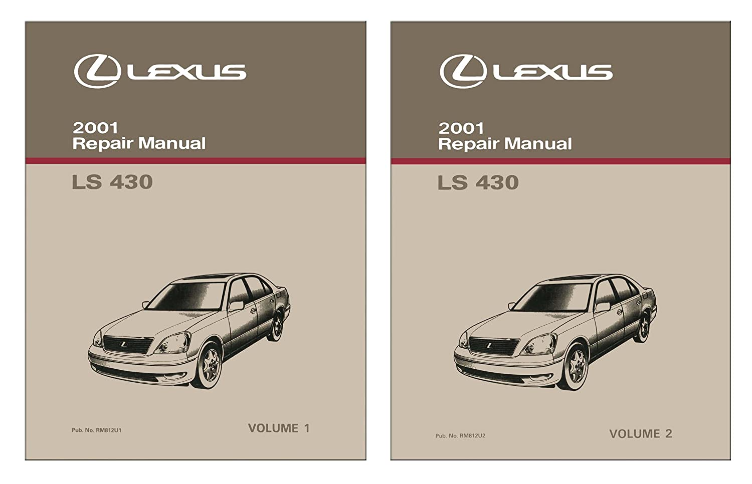 Amazon.com: bishko automotive literature 2001 Lexus LS 430 Shop Service  Repair Manual Book Engine Drivetrain OEM: Automotive