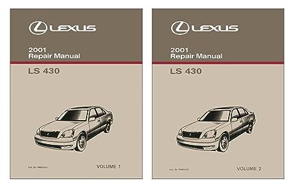 2001 lexus ls430 service repair manual software