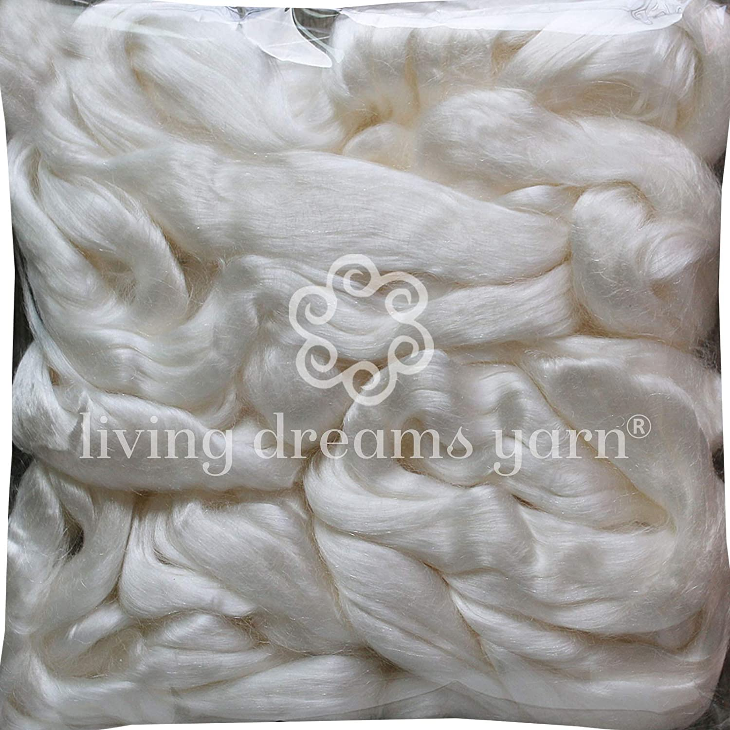 Super Soft Shiny Vegan Combed Top Soybean Fiber for Spinning Blending Dyeing