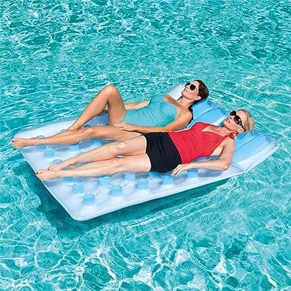 Go out Piscina Flotador,Silla De Surf Inflable Ocio Flotante Juguete De Natacion Vacaciones Agua