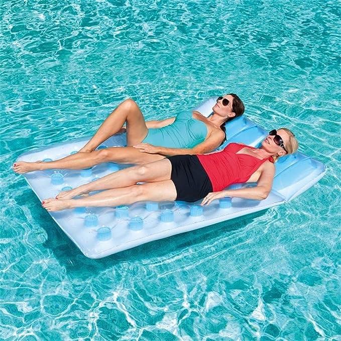 Go out Piscina Flotador,Silla De Surf Inflable Ocio Flotante Juguete De Natacion Vacaciones Agua Toma Una Foto Divertido Juguete De Relajación (193 ...