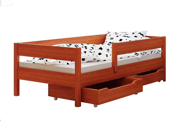 comprar ahora Tic 180x90 Cama individual individual individual infantil Miki, con cajones, 4 Colors, muchos tamaños diferentes -, madera, blancoo, 140x70  grandes ofertas