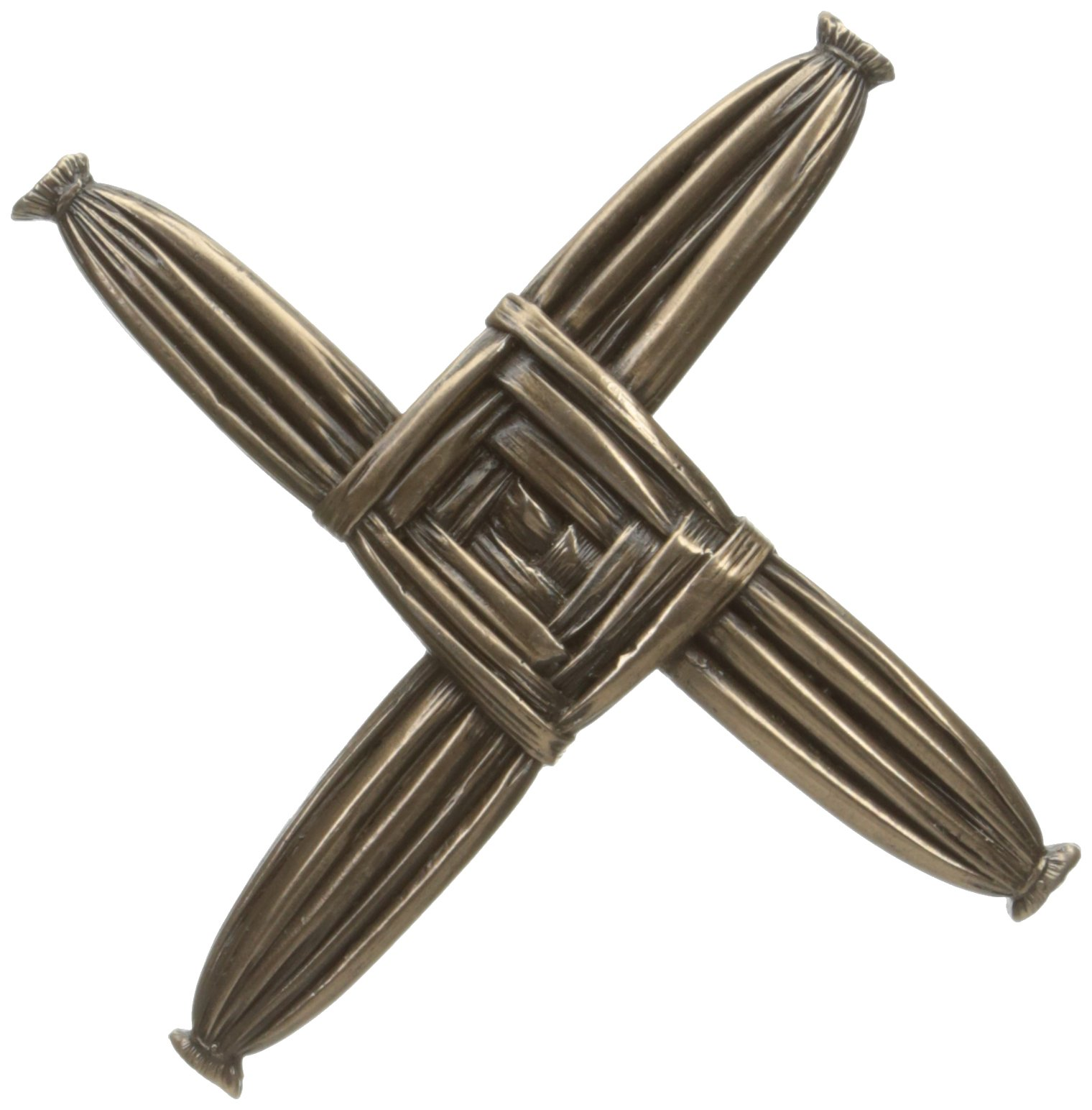 St. Brigid Cross Bronzed Wall Hanging - Made in Ireland by Wild Goose