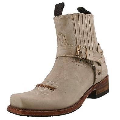 Chaussures Sendra Bottines Et 6445 Sacs Beige Biker qnSIO4