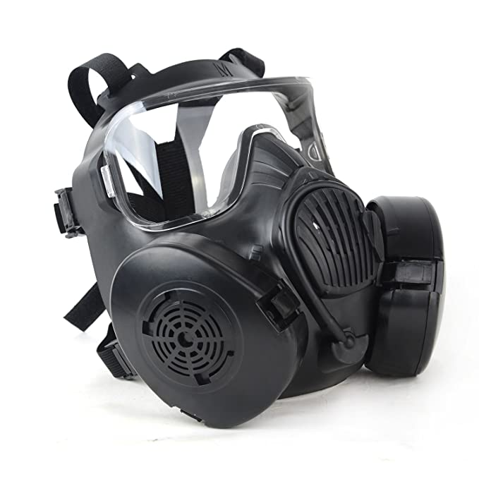 Durable Halloween Mask Dc-15 M50 Full Face Skull Mask Cs Gas Mask Tactical War Game Cosplay Party Mask Sand/green/black To Enjoy High Reputation In The International Market Party Masks