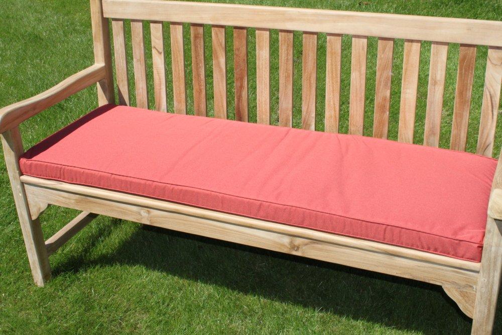 mobilier de jardin coussin pour banc de jardin 3 places terracotta amazonfr jardin - Coussin Pour Banquette De Jardin
