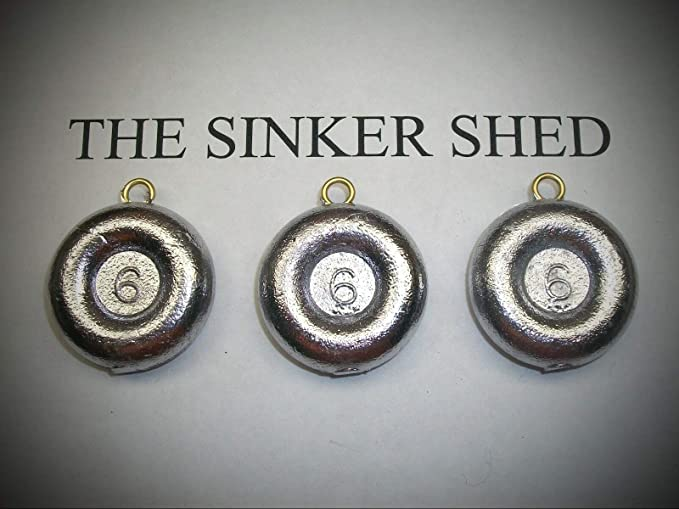 TROLLING FISHING Weight Sinkers poids environ 56.70 g Quille platine Perle Chaîne 2 oz