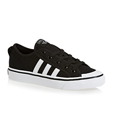 adidas Originals Nizza Chaussures 35 EU Core Noir Blanc: