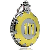 xigeya Silver & Golden Steampunk Reloj de Bolsillo