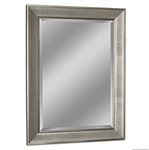 Headwest 8013 Pave Wall Mirror in Brush Nickel