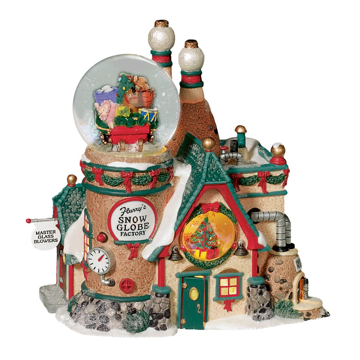 Department 56 North Pole Flurry's Snowglobe Maker