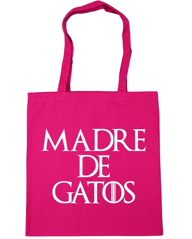 HippoWarehouse Madre de Gatos Bolso de Playa Bolsa Compra Con Asas para gimnasio 42cm x 38cm 10 litros capacidad: Amazon.es: Zapatos y complementos