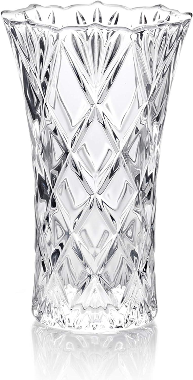 """Mikasa Saturn 9.25/"""" Crystal Vase"""