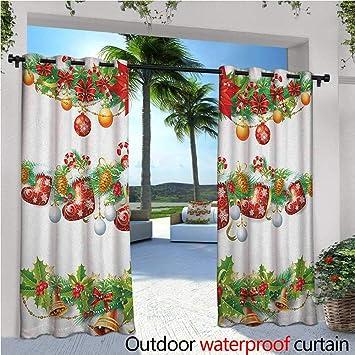 Cortinas para Patio de Navidad, Dulces, cañas y piruletas, patrón ...