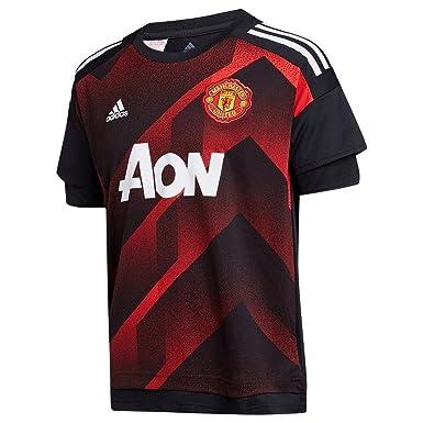 6d175c234 2017-2018 Man Utd Adidas Pre-Match Training Shirt (Red) - Kids ...