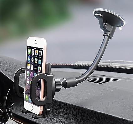 Soporte de coche, x-AUTO One Touch brazo flexible universal ...