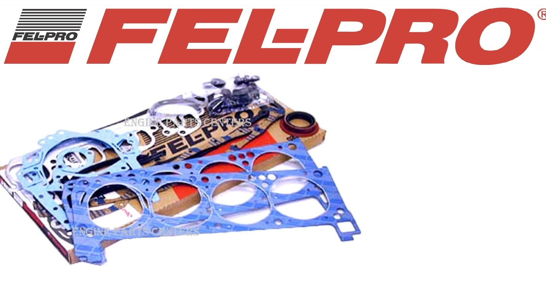 Fel Pro Engine Overhaul Gasket Set 1970-1982 Ford bb 351C 351M 400 (Full Gskt Set) by Falcon Performance